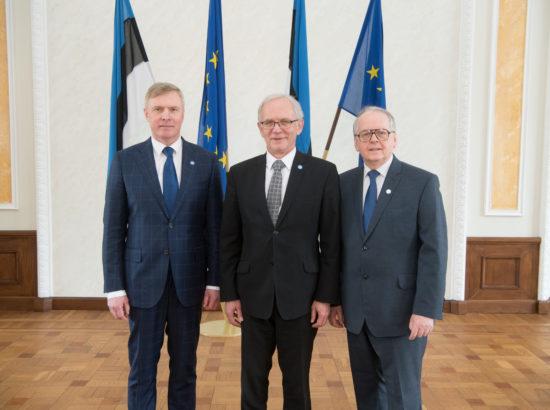 Riigikogu juhatus, 22. märts 2018