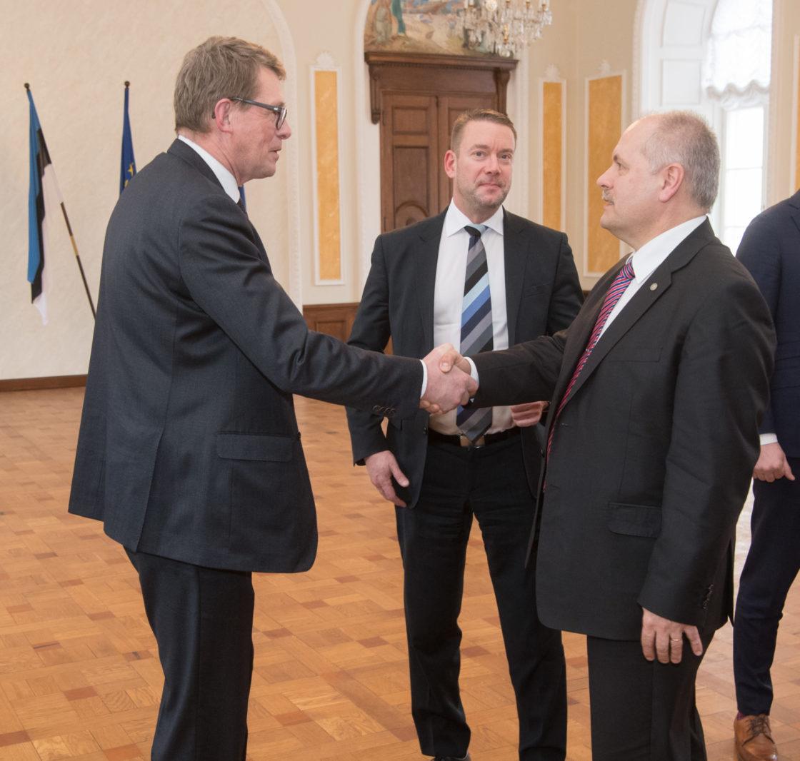 Väliskomisjon kohtus Soome parlamendi väliskomisjoni delegatsiooniga