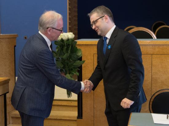 Riigikontrolöri Janar Holmi ametivanne