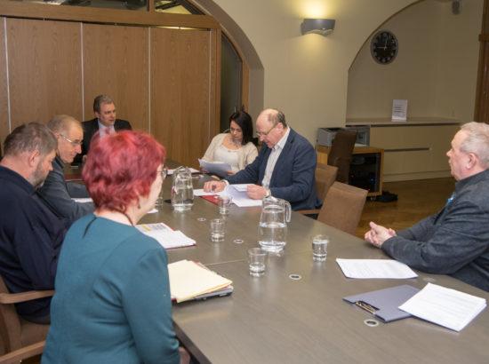 Korruptsioonivastase erikomisjoni istung