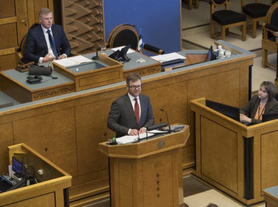Täiskogu istung, Finantsinspektsiooni 2017. aasta aastaaruanne