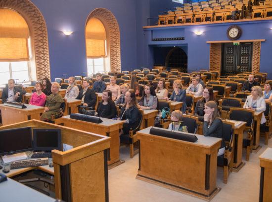 Euroopa Liidu parlamentide esimeeste konverentsi sideisikute tänuüritus