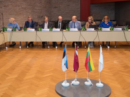 Balti Assamblee julgeoleku- ja kaitsekomisjoni ning heaolukomisjoni istung