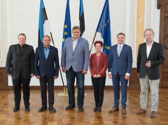 Julgeolekuasutuste järelevalve erikomisjoni koosseis, 14. mai 2018