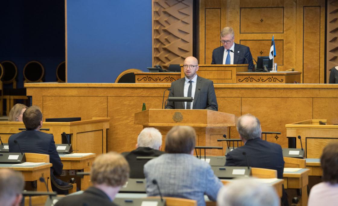 Riigikohtu esimehe Priit Pikamäe ülevaade kohtukorralduse, õigusemõistmise ja seaduste ühetaolise kohaldamise kohta