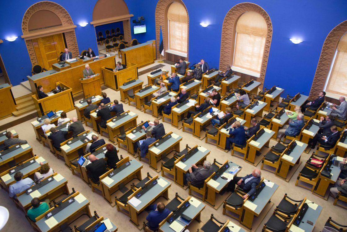 Täiskogu istung, olulise tähtsusega riikliku küsimusena riigireformi arutelu