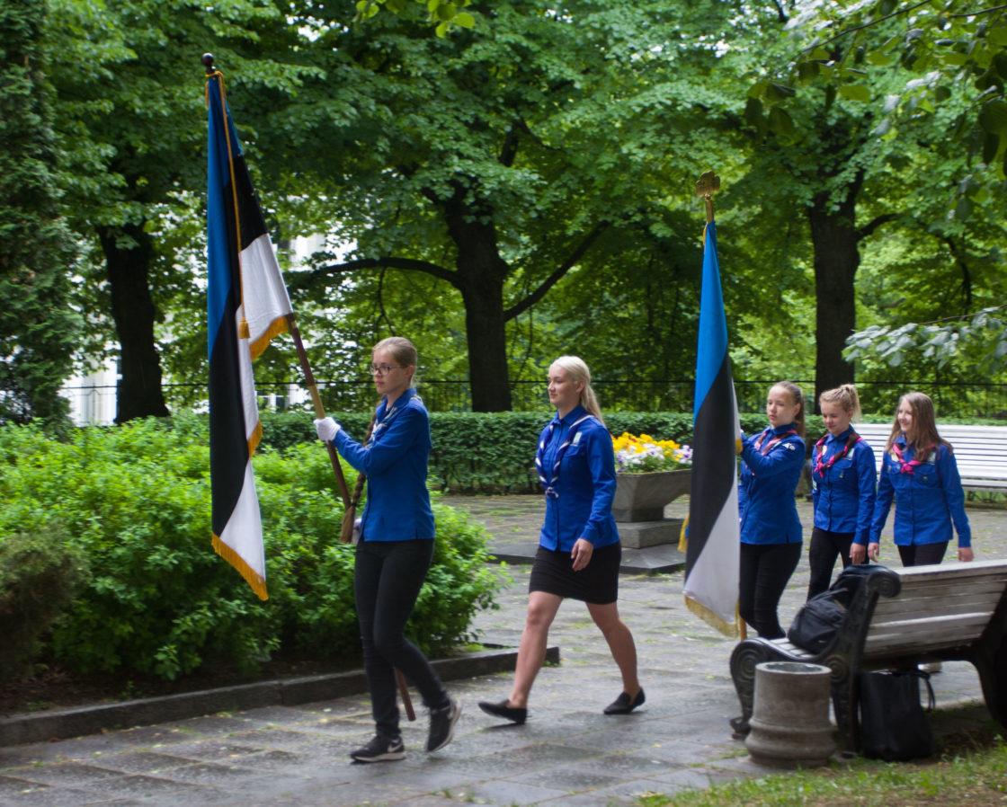 Eesti lipu päeva tähistamine 2018
