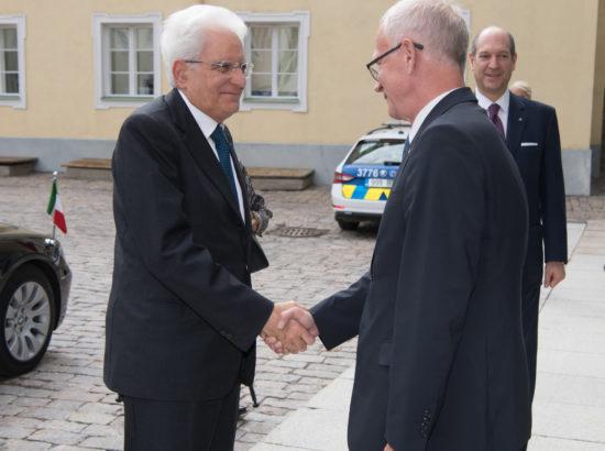 Kohtumine Itaalia presidendi Sergio Mattarellaga