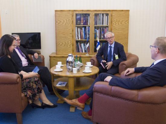 Kohtumine Soome suursaadiku Timo Kantolaga