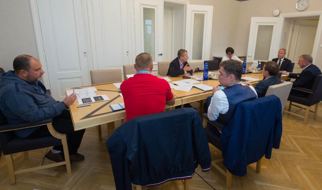 Rahanduskomisjoni istung, 17. september 2018