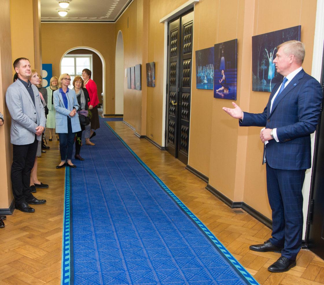"""Näituse """"Eesti ballett, 100 aastat ilu ja emotsioone"""" avamine"""