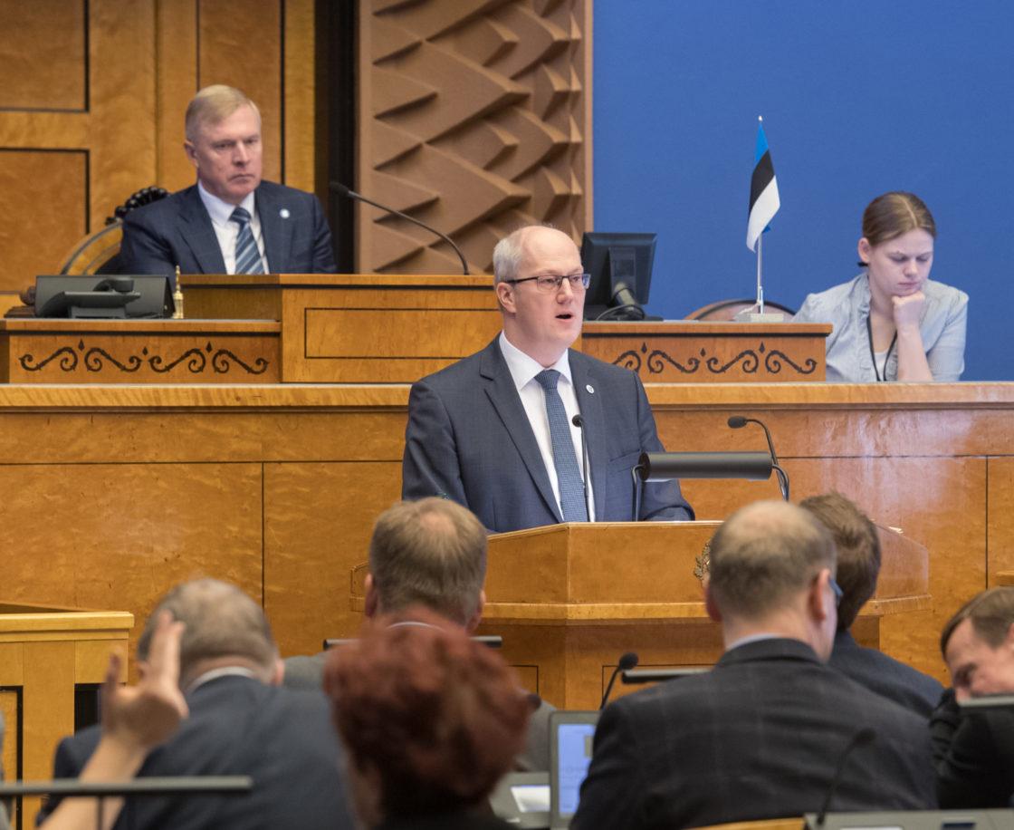 Täiskogu istung, Riigikogu nimetas Heiki Loodi Riigikohtu liikmeks