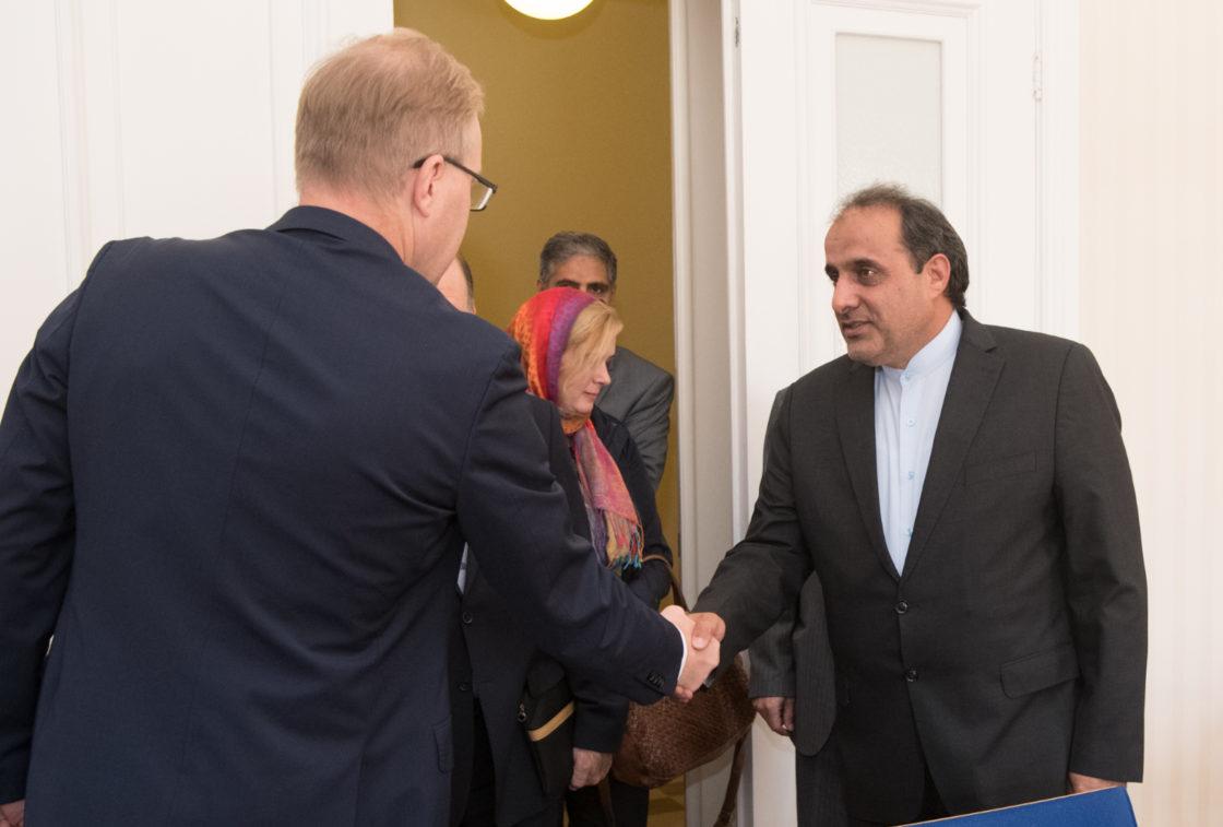 Kohtumised Iraani parlamendi Iraani-Eesti parlamendirühmaga