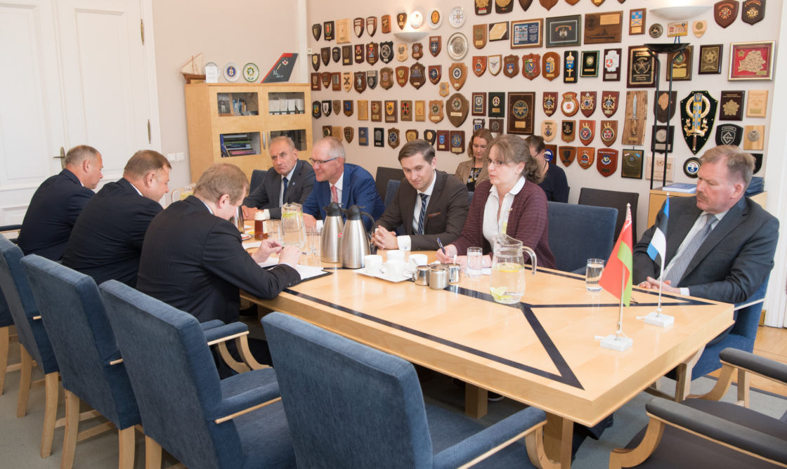 Riigikaitsekomisjoni ja Euroopa Liidu asjade komisjoni liikmed kohtusid Valgevene kaitsekomisjoniga