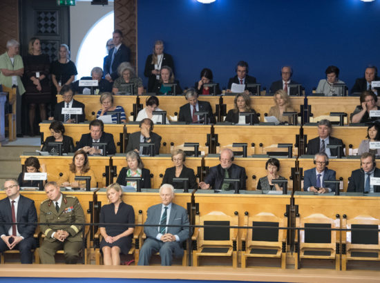 Riigikogu sügisistungjärgu avaistung, 10. september 2018