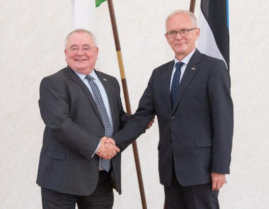 Kohtumine Iirimaa parlamendi alamkoja esimehe Seán Ó Fearghaíliga