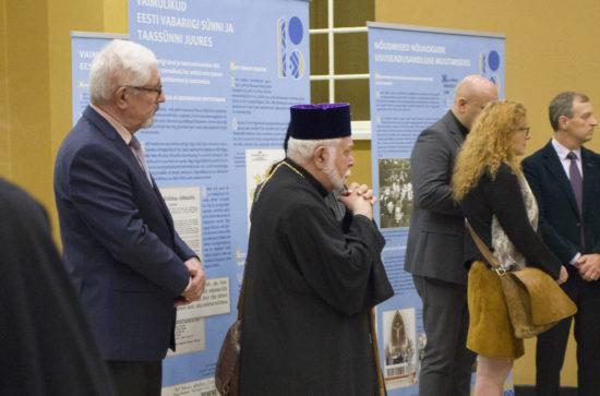 """Näituse """"Vaimulikud Eesti Vabariigi sünni ja taassünni juures"""" avamine"""