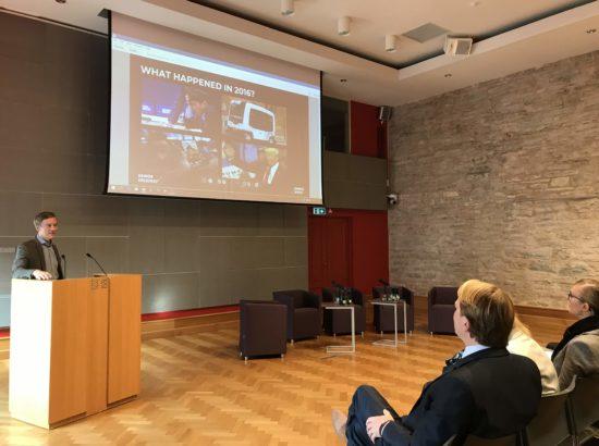 """Arenguseire Keskuse ja Soome Innovatsioonifondi Sitra seminar """"Tuleviku töö"""""""