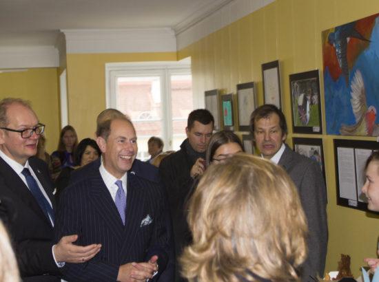 Kohtumine Wessexi krahvi, prints Edwardi ja Wessexi krahvinna Sophiega