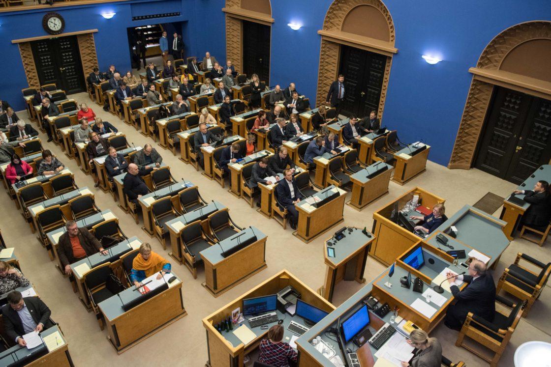 Täiskogu istung, ülevaade valitsuse tegevusest Euroopa Liidu poliitika teostamisel