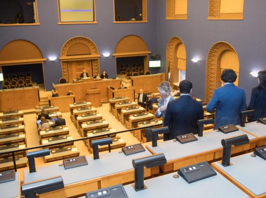 Georgia parlamendi esimehe Irakli Kobakhidze ja teda saatva delegatsiooni visiit