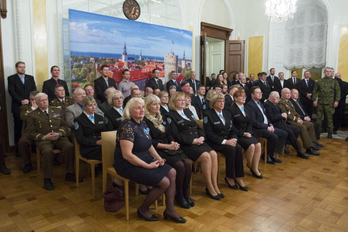 Kaitseliidu Tallinna maleva Toompea malevkond tähistas Toompea lossis oma aastapäeva