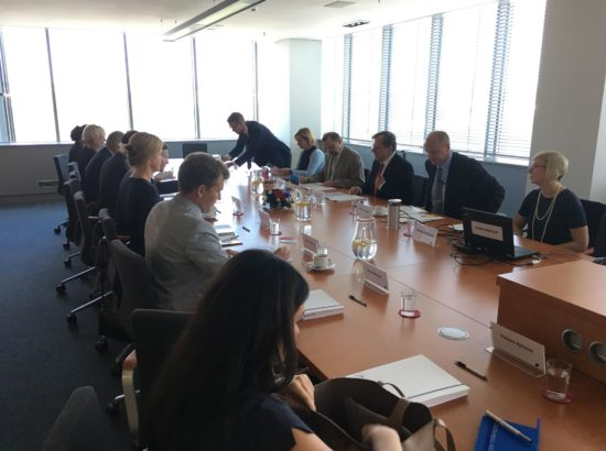Riigieelarve kontrolli erikomisjoni töövisiit Tšehhi