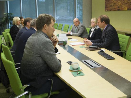 Riigieelarve kontrolli erikomisjoni väljasõiduistung Eesti Energiasse