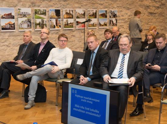 Maaelukomisjoni avatud istung kohaliku omavalitsuse arendamisest