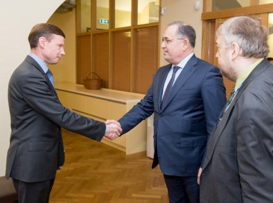 Riigieelarve kontrolli erikomisjoni liikmed kohtusid Kasahstani Riigikontrolli delegatsiooniga