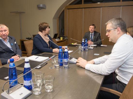 Riigieelarve kontrolli erikomisjoni istung Eesti Haigekassa ja Eesti Töötukassa reservide kasutamisest