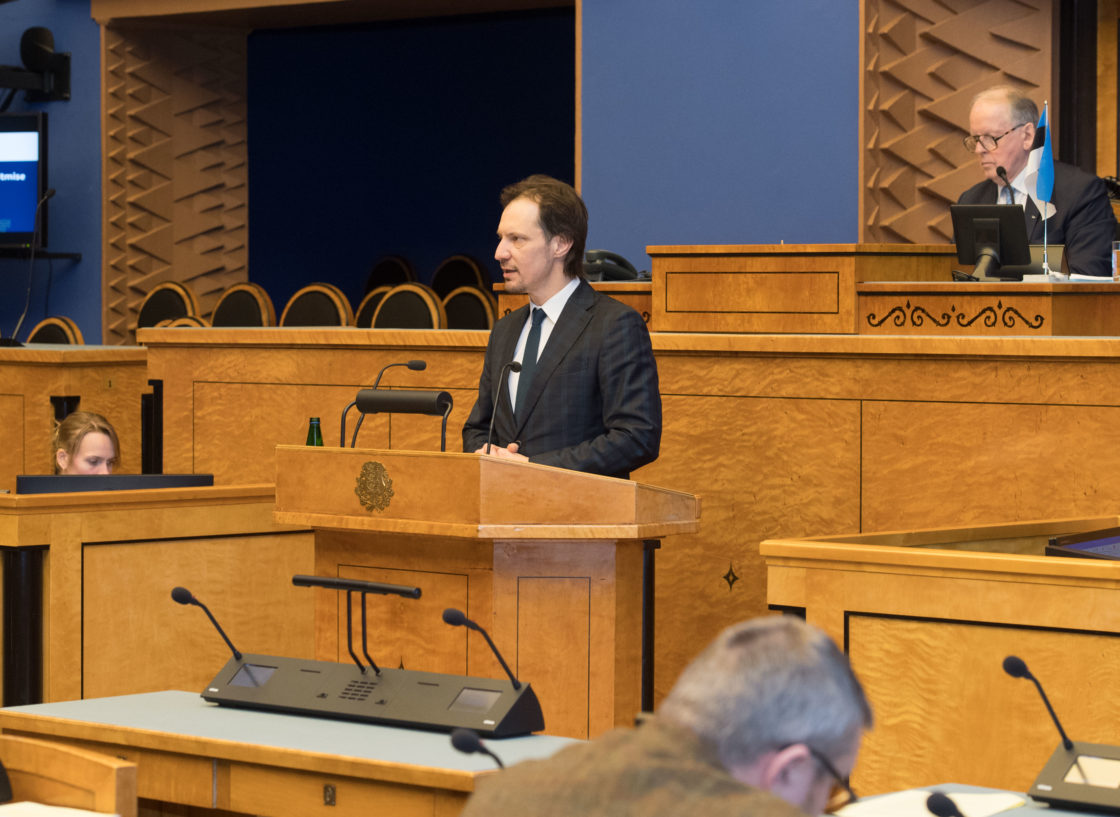 """Täiskogu istung, """"Kultuuripoliitika põhialused aastani 2020"""" 2018. aasta täitmise aruanne"""