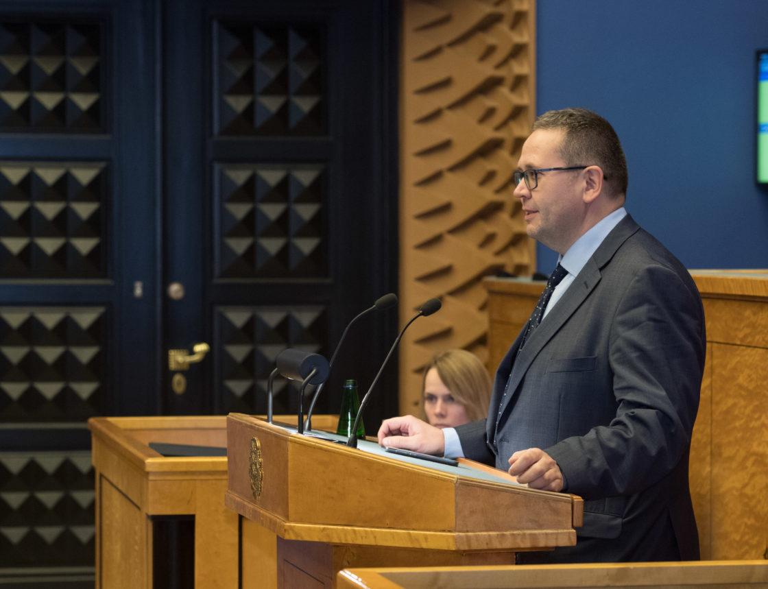 Täiskogu istung, Riigikogu nimetas Villu Kõve Riigikohtu esimeheks