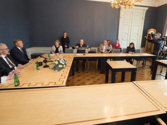 Riigikogu juhatuse pressikonverents, 21. veebruar 2019