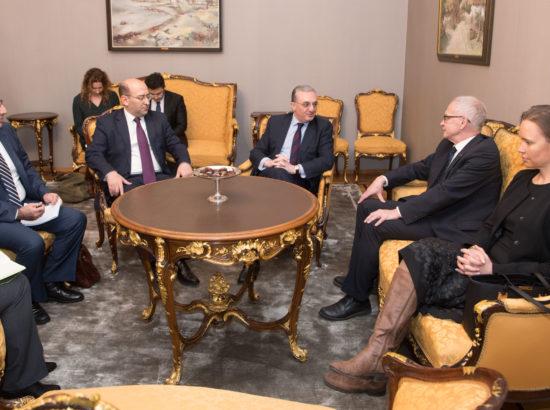 Armeenia välisministri Zohrab Mnatsakanyani visiit