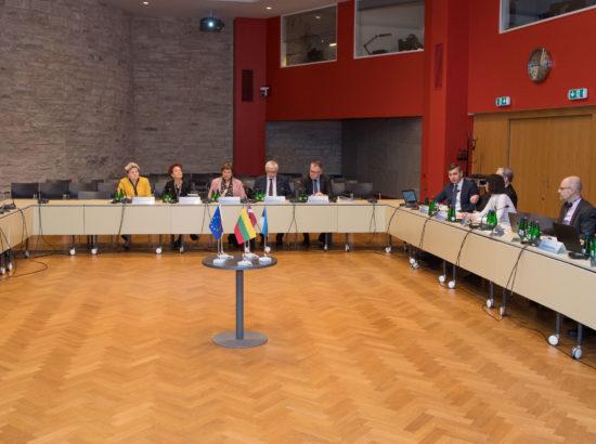 Balti Assamblee haridus-, teadus- ja kultuurikomisjoni istung