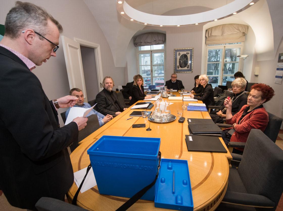 Kultuurikomisjoni esimehe ja aseesimehe valimine