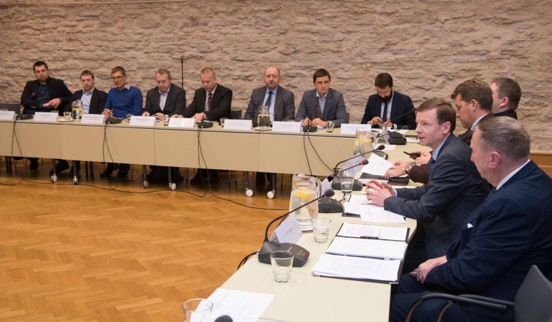 Riigieelarve kontrolli erikomisjoni istung kiire interneti kättesaadavusest