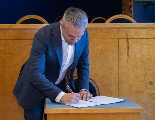 Andrei Korobeiniku ametivanne
