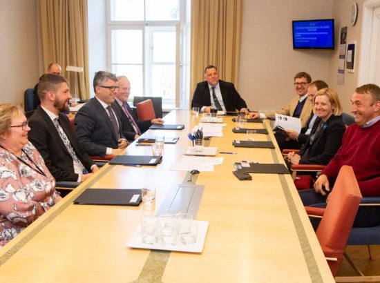 Majanduskomisjoni esimehe ja aseesimehe valimised