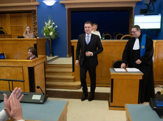 XIV Riigikogu koosseisu avaistung