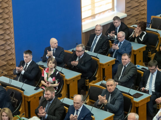 Riigikogu juhatuse valimised 2019
