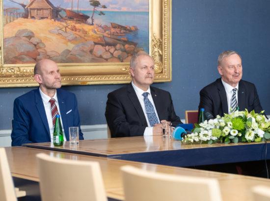 Riigikogu juhatuse pressikonverents 2019