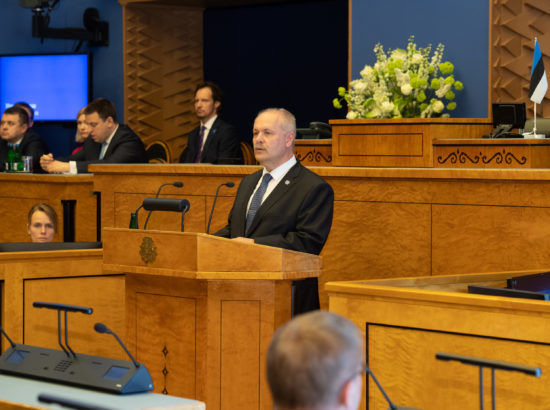 Riigikogu 100. sünnipäevale pühendatud pidulik istung