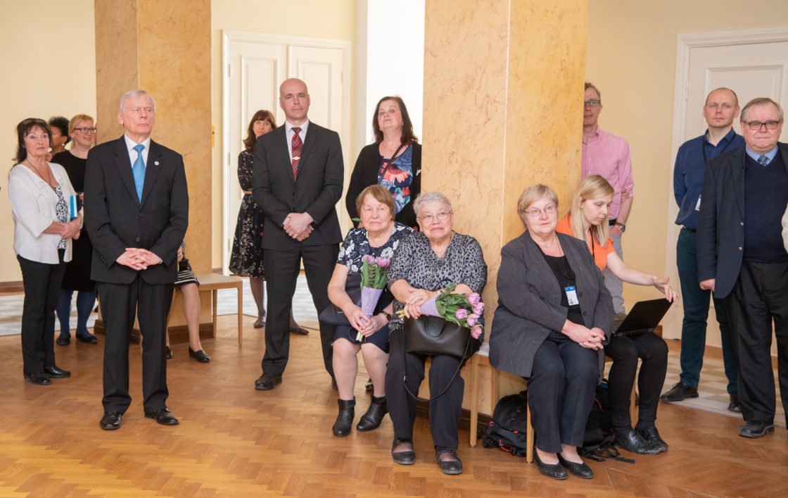 Riigikogu nõupidamisruumide nimetseremoonia