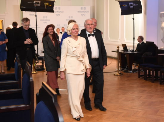 Riigikogu 100. aastapäeva kontsert ja pidulik vastuvõtt