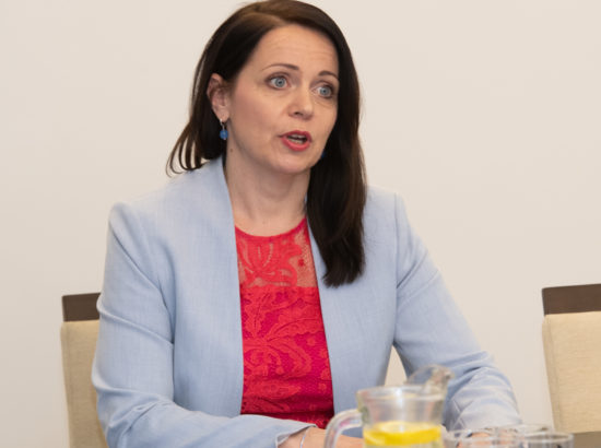 Euroopa Liidu asjade komisjoni esimees Anneli Ott.