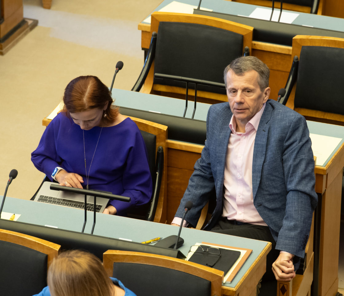 Riigikogu infotund, 8. mai 2019