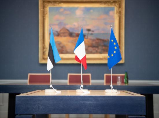 Rahanduskomisjoni liikmed kohtusid Prantsusmaa senati liikmetega