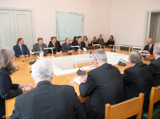 Riigikaitsekomisjon kohtus Ühendkuningriigi Parlamendi Alamkoja riigikaitsekomisjoni delegatsiooniga